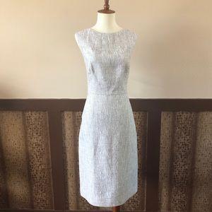 Kate Spade Linen Blend Textured Sheath Dress